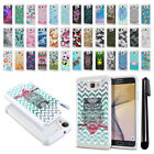 For Samsung Galaxy On7/ On Nxt/ G610 Anti Shock Bling HYBRID Case Cover + Pen