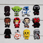 100PCS Star Wars PVC Shoe Charms Accessories fit in Shoes & Bracelets Gifts