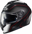 HJC IS-17 Arcus Motorcycle Helmet / Black/Red - All Sizes