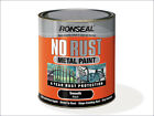 Ronseal No Rust Metal Paint Ideal for gates railings down pipes garden furniture
