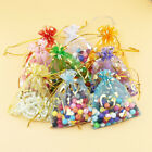 500pcs Organza Candy Bags Wedding Party Decor Heart Gift Jewellery Favor Pouches