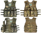 Boys Kids Army Military Soldier Camo MTP Assault Vest Jacket Play Set Costume