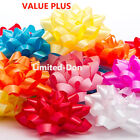 """ASSORTED 3-1/4"""" CONFETTI POLY BOWS VARIETY COLORS"""