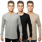 Loyalty & Faith Mens T Shirt Long Sleeve Crew Neck Biker Panel Branded Tee Top