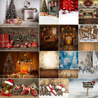 US 3X5ft/5X7ft Christmas Photography Backdrop Studio Background Party Decor NEW