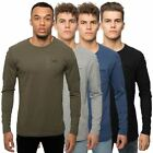 Loyalty & Faith Mens TShirt Long Sleeve Crew Neck Biker Pocket Branded Tee Top