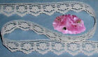 "Ivory Lace Trim Scalloped 13-26 Yards x 5/8"" Doll Lace N89V Added Trims ShipFree"