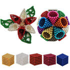 3/5mm 216pcs Puzzle Magnet Ball Sphere Magic Cube 3D Ball Fidget Stress Reliever