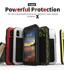 For iPhone X 6S 7 8 Plus 5S Waterproof Heavy Duty Shockproof Aluminum Cover Case