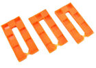 WEDGIT® ORANGE PLASTIC INTERLOCKING RIBBED WEDGES LEVELLING CLADDING DECKING