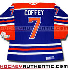 PAUL COFFEY EDMONTON OILERS CCM VINTAGE AWAY JERSEY BLUE NHL HOCKEY