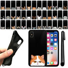 "For Apple iPhone X 5.8"" Cat Design TPU Black SILICONE Soft Case Cover + Pen"