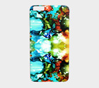 Phone Case Cell cover for Iphone Samsung Galaxy Design 90 abstract aqua LDumas
