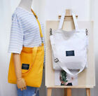 Women Casual Canvas Purse Messenger Satchel Tote Handbag Shoulder Bags 35x33cm