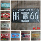 15X30cm Bar Cafe Hotel Metope Decor Iron Poster Sheet Pub License Plate Painting