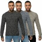 Loyalty & Faith Mens Knitwear Crew Neck Pull Over Long Sleeve Jumper Sweater