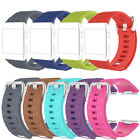 NEW ARRIVAL!For Fitbit Ionic Large S TPU Watch Strap Wrist Band Bangle+Buckle