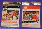 CHOOSE YOUR One Direction 1D Fashion Pack (contains 50 temporary tattoos)
