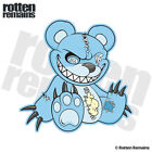 Zombie Teddy Bear Decal Blue Dead Cute Zombies Gloss Sticker (RH) HVG