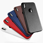 Luxury Ultra Slim Leather Soft TPU Case Cover For New Apple iPhone X