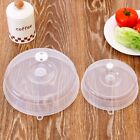 Clear Microwave Plate Cover Food Dish Lid Ventilated Steam Vent Kitchen Cooking