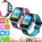 Bluetooth Smart Watch Phone Camera SOS GPS Location Anti-lost For Kids Boy Girls