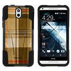 Case for HTC Desire 610 Shell Silicone Stand Image Designs Cute Cool <br/> Beach Galaxy Animals Plaid Camo Unique Cover Colors
