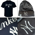 New York Yankees Series Sweep Officially Licenced MLB T-shirt + Rev Knit Hat