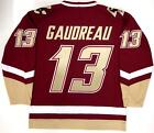 JOHNNY GAUDREAU BOSTON COLLEGE EAGLES UNDER ARMOUR MAROON JERSEY CALGARY FLAMES $249.99 USD on eBay