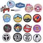 iron-on patch embroidery appliques badge for decorate clothing bags applique BDA