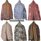 New Fashion Women Pashmina Boiled Wool Shawl Stole Scarf Hand Embroidery