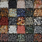 4mm 6mm 8mm 10mm Natural Matte Frosted Gems Round Loose Unpolished Stone Beads