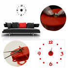 Luxury Large Wall Clock DIY Home Decoration Mirror Art Design Living Room O0155