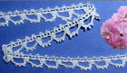 "Off White Crocheted Lace Trim 14-19 Yard x 1/2"" Cotton R36V Added Trim ShipFree"