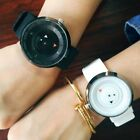 For Mens Womens Couple Casual Silicone Turntable Quartz Analog Wrist New Watches