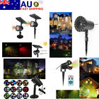 AU Waterproof Outdoor LED Garden Star Patterens Xmas Party Laser Projector Light