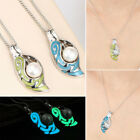 1Pc Women Pearl Luminous Pendant Glow In Dark Necklace Mother's Day Jewelry Gift