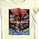 James Bond T-shirt 007 The Spy Who Loved Me retro vintage 70's Roger Moore tee $24.99 USD