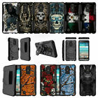 For LG Phoenix 3 | LG Fortune | LG K4 (2017) Clip Kickstand Case - Tough Designs