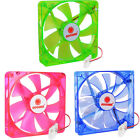 "Coolmax CMF-1425 5.5"" x 5.5"" 140mm Desktop Computer Case Fan w/4-Pin Connector"