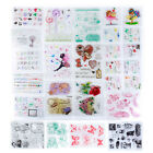 Many Patterns DIY Transparent Rubber Stamp Seal Craft Scrapbooking Decor SY 10