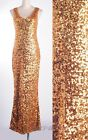 1920s Sexy Cocktail Clubwear Gold Sequin Formal Dress  Party Star  RD 3295