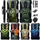 For LG Aristo 2 X210 /Tribute Dynasty / Fortune 2 Holster Case Cover LuxGuard A1