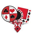 CASINO PARTY (Party Tableware, Banners, Balloons & Decorations) (1C)