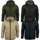 Mens Quilted Padded Jacket/ Coat by Brave Soul 'Grantplain'