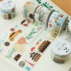 Hot DIY Retro Travel Sticker Decor Roll Paper Adhesive Tape Crafts 97k AU