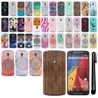 For Motorola Moto G 2nd Gen 2014 XT1068 HARD Protector Back Case Cover + PEN