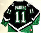 ZACH PARISE NORTH DAKOTA FIGHTING SIOUX BLACK JERSEY MINNESOTA WILD