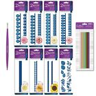 Die'sire Classiques Quilling Flower Metal Dies, Quilling Tool or Paper Strips