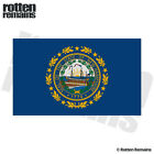New Hampshire State Flag Decal NH Motorcycle Car Truck Gloss Sticker HVG